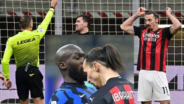 سخرية وشتائم بين لوكاكو وابراهيموفيتش في دربي كأس إيطاليا