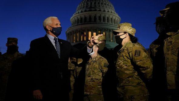 """الشعب الأمريكي لا يستحق أقل من ذلك"""".. بينس يتعهد بضمان انتقال السلطة بطريقة """"مشرفة"""""""