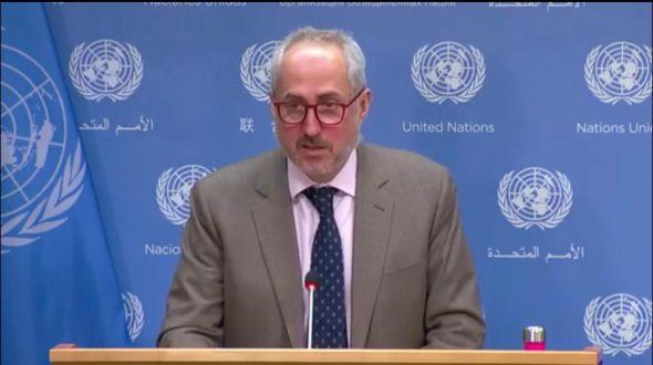الأمم المتحدة: سنرحب بتفعيل جهود اللجنة الرباعية حول مسار التسوية في الشرق الأوسط