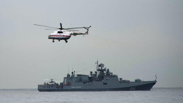 لأول مرة في التاريخ ..سفينة حربية روسية تصل ميناء بورتسودان