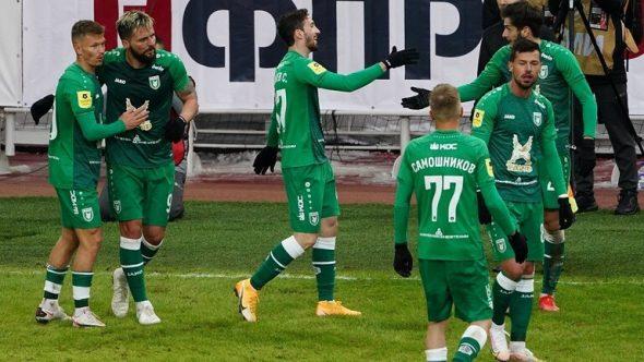 """""""بالفيديو"""" روبن قازان يهزم سبارتاك موسكو 2-0"""