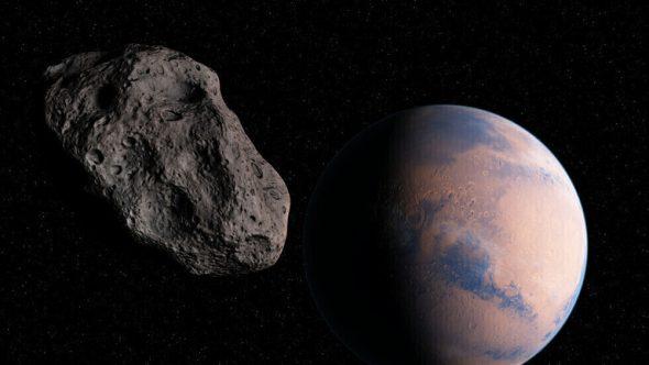 """صورة لكويكب """" يوم القيامة"""" وهو يستعد للمرور بالقرب من الأرض"""
