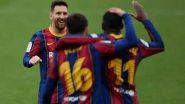 ميسي يقود برشلونة لحسم القمة أمام إشبيلية