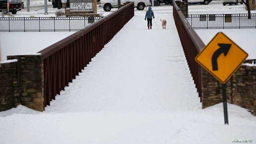 بايدن يتفقّد ولاية تكساس بعد موجة الصقيع الحادة