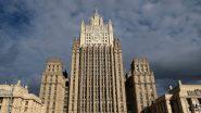 """انتهاك غير مقبول"""".. روسيا تدين الضربة الأمريكية على سوريا"""