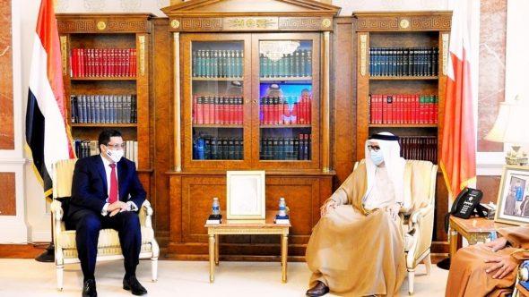 بن مبارك يبحث مع الزياني الأوضاع في اليمن والمنطقة