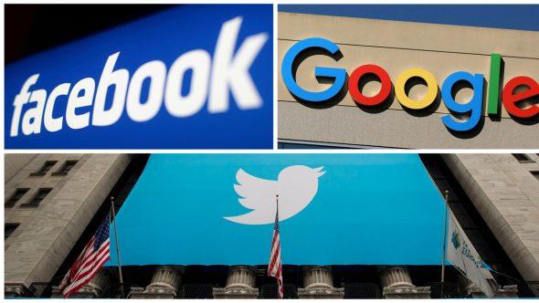 """صحيفة: رؤساء """"فيسبوك"""" و""""تويتر"""" و""""غوغل"""" سيمثلون أمام مجلس النواب الأمريكي في مارس"""