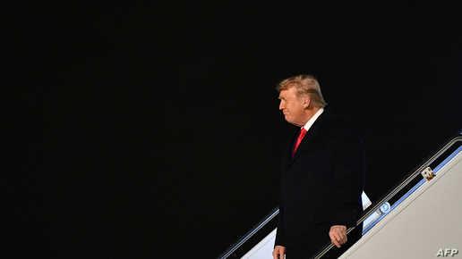 أول ظهور لترامب منذ مغادرته البيت الأبيض