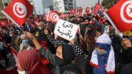 """النهضة تستعرض قوتها في الشارع.. والرئيس التونسي يصف تحركاتها بـ""""الإفلاس السياسي"""""""
