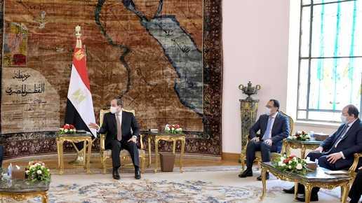 في القاهرة.. السيسي يلتقي رئيس الحكومة الليبية الجديد