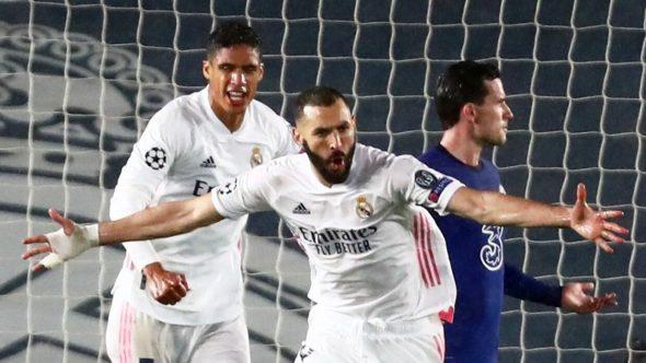 بنزيما يعادل رقم أسطورة ريال مدريد