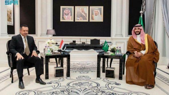 خالد بن سلمان يلتقي عبد الملك ويشددان على أهمية المبادرة السعودية للسلام باليمن