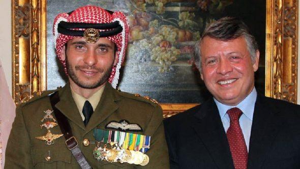 الملك الأردني يكلف عمه الأمير الحسن بمهمة التواصل مع الأمير حمزة بن الحسين