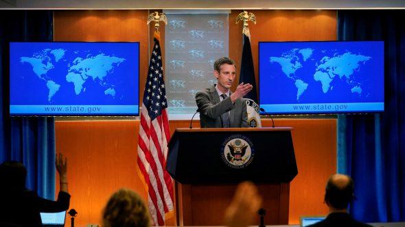 واشنطن ؛ منفتحون للتحدث مع موسكو بشأن الوضع في شرق أوكرانيا