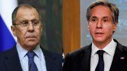الخارجية الروسية: لافروف وبلينكن سيلتقيان في آيسلندا