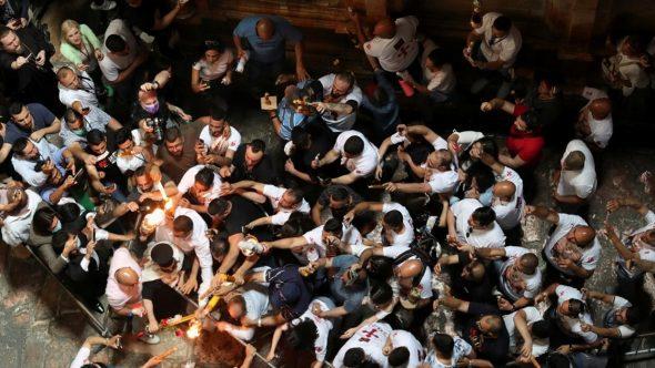 """الأردن يدين """"مضايقة"""" الشرطة الإسرائيلية للمسيحيين في محيط كنيسة القيامة في القدس"""